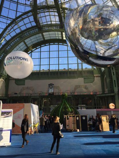 Exposition au Grand Palais, Solutions COP 21