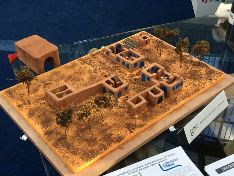 Maquette du projet de Zone d'activité électrifié