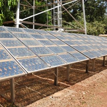 Panneaux solaires - Ecole d'ingénieur 2iE -Ougadougou