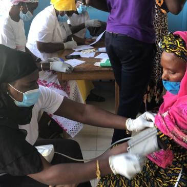 Caravane Santé au Sénégal